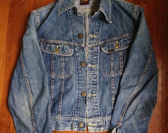 Vintage Lee Denim Jacket/1960/union made