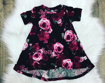 Floral, High Low Sundress, baby sundress, baby, romper, baby, girls dresses, baby shower gift, girls birthday gift, first birthday