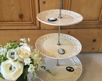 Vintage 3 Tiered Cake Stand