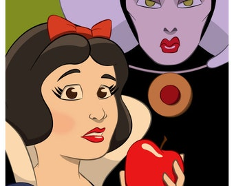 Snow White & The Queen