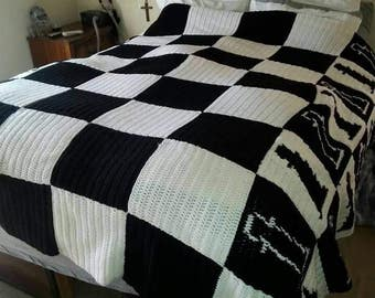 Chess Themed Blanket