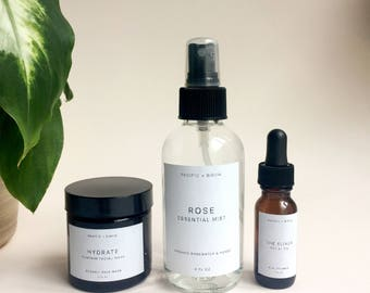 Flora Essential Water Mist - Rose - Organic - Vegan