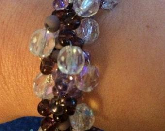 Seed Bead Spiral Bracelet