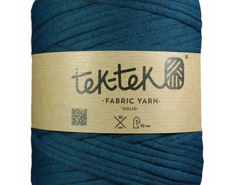Tek-Tek Fabric Yarn – Dark Petrol Blue (Large)