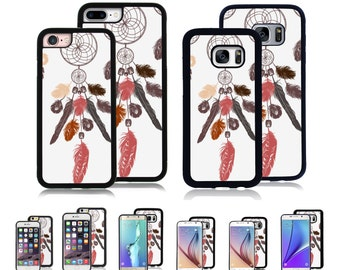 Cover Case for Apple iPhone 7 7 Plus 6 6S Plus Samsung Galaxy S7 Edge S6 Plus Note 5 8 9 10 Att Sprint Verizon  Dream catcher Drawing