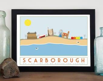 Seaside Print - Scarborough