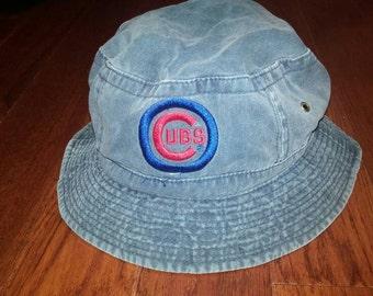 Vintage Chicago Cubs floppy hat