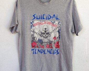 Rare Suicidal Tendencies band tshirt M