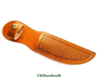 Leather Knife Sheath, Small Leather Sheath, Leather Knife Pouch, Leather Sheath, Hunting Knife Sheath, Recreation Knife Sheath, Knife Pouch