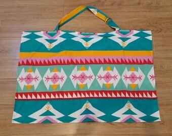Handmade Breastfeeding Cover - Aztec / nursing / feeding
