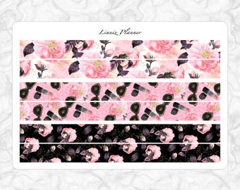Girl Boss PERSONAL washi (matte planner stickers, Filofax, Kikki K, Websters Pages, Color Crush)