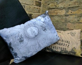 Geometric Moon Cushion