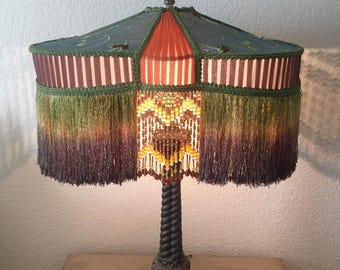Tripod Antique Style Lampshade
