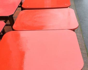 5 Vintage Formica Topped Pub Tables Price Is For One