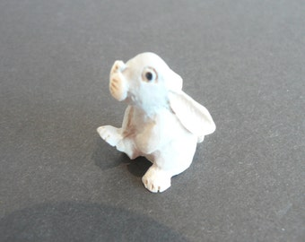 Miniature Hand-Painted Bunny Rabbit - Thumper