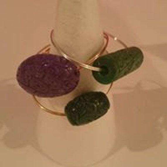 Jade bracelets