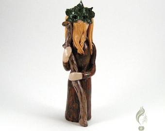 Celtic Green Man Figurine/Altar Decor/Celtic Green Man Statue/Celtic Green Man Figure/God Figurine/God Statue/Pagan/Wicca