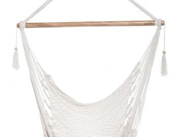 Hammock, High quality 100% natural cotton chair hammock, patio chair, personal hammock, individual hammock, hammock garden