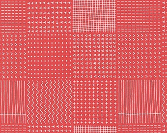 Blueberry Park in CORAL by Karen Lewis from Robert Kaufman - 1/2 Yard
