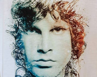 Stunning Jim Morrison ,The Doors, Rock ,t-shirt ,t shirt,Jim Morrison t shirt, tshirts, t shirts,t-shirts,tees,birtday present