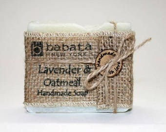 Lavender with Oatmeal  Best Handmade Soap