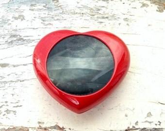 Valentine gift for Her - Heart Box - Jewelry Box - Valentine's Day gift