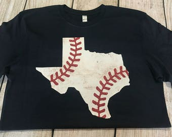 Baseball monogram short sleeve shirt baseball tee baseball for Texas baseball t shirt