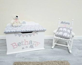 Rocking chair / child / nursery / furniture / kids room / children's / cushion / boy / girl / chair