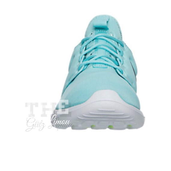 high-quality Nike swarovski authentic glitz gems bling teal by TheGlitzLimou 9eb3a0066