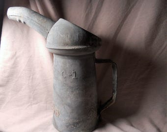 Antique Oil Can/Pitcher