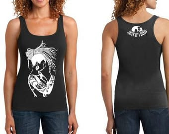 Luscious Prayer ribbed tank