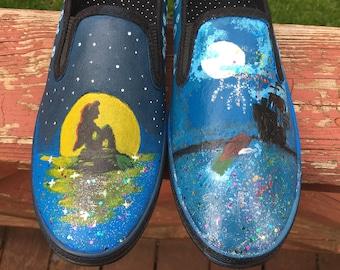 Custom Vans Slip-On Shoes
