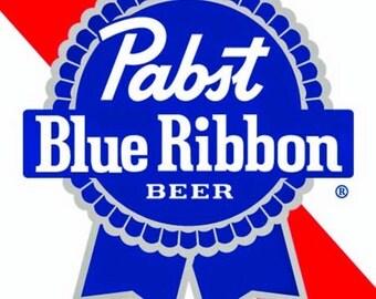 Pabst Blue Ribbon Beer Coaster 2 pack