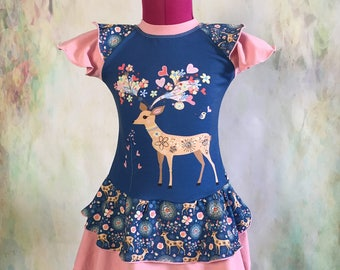 Double Skirted Dress