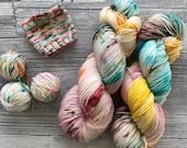 FAIRY LIGHTS - Hazel Soft Sock Fingering Weight superwash Yarn - 100g - 400m