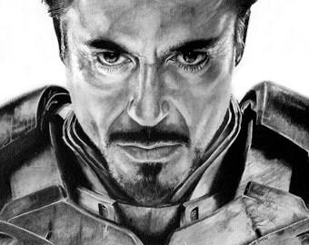 PRINT Robert Downey Jr
