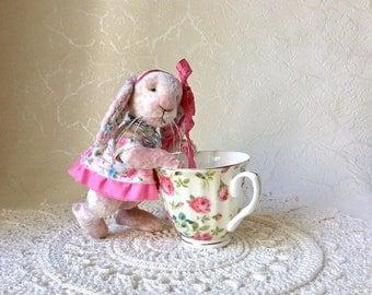 Teddy bunny stuffed animals artist bear artist bunny plush toys plush bunny interior toys unique toys teddy