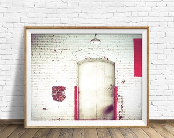 """minimalist wall art, industrial decor, instant download printable art, modern, contemporary, wall art, art prints - """"Shipping and Receiving"""""""
