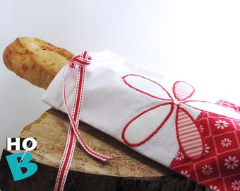 BAG for bread doubled baguette / Bag for wand