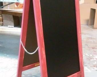 A-Frame Chalkboard Menu Board 27x56 (2 ft x 4 ft)