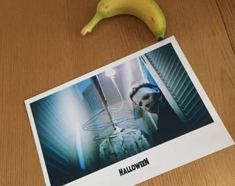HALLOWEEN A4 fine art print ideal for framing Michael Myers horror