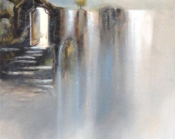 Through The Open Door - 8x10 Fine Art Print