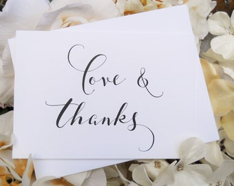 Set of 8, THANK YOU CARDS, Thank You Cards Set, Thank You Cards, Thank You Notes, Thank You Card Set, Wedding Thank You Cards, Note Cards
