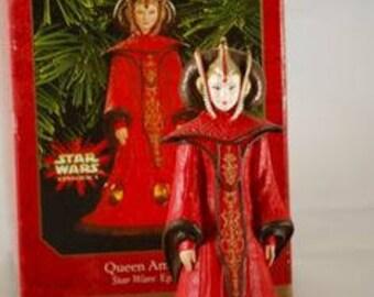 Queen Amidala Star Wars Episode 1 Hallmark ornament mib