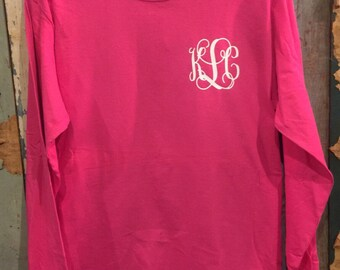 Small Monogram Long Sleeve Shirt
