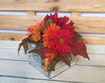 Fall Centerpiece, Fall Wedding Centerpiece, Fall Floral, Rustic Centerpiece, Rustic Floral