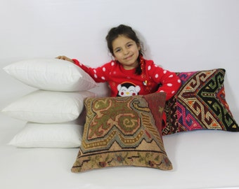 16x16 kilim pillow inserts pillow form throw pillow inserts pillow insert 16x16 pillows stuffing floor pillow insert turkish pillow 40x40cm