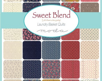 Sweet Blend - Moda - Jelly Roll  - by Laundry Basket Quilts- New for Summer 2017