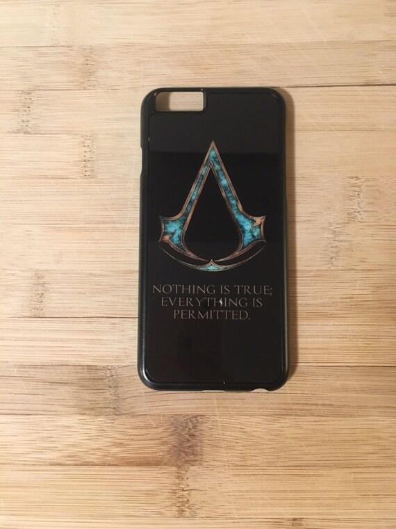 Assassin's Creed - assassins - brotherhood - appleofeden - ezio - iphone case- phone case