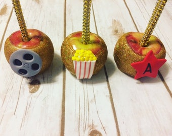 Hollywood Movie Glam Chocolate  Caramel Apples